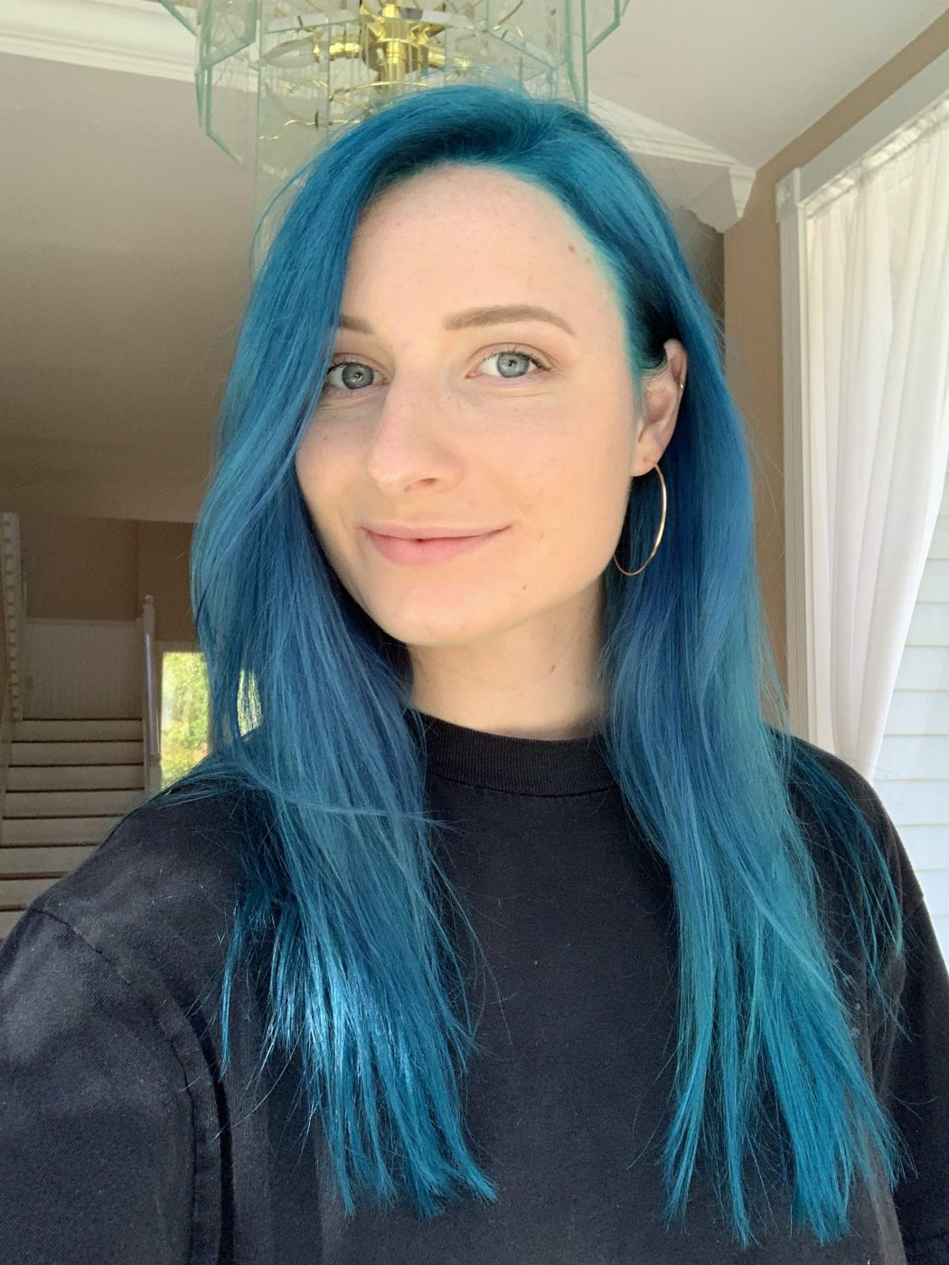 Blue Hair What I Wish I Knew Before   How To Get Turquoise Hair