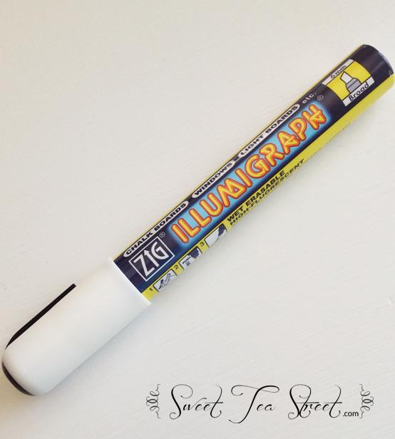 chalk ink marker