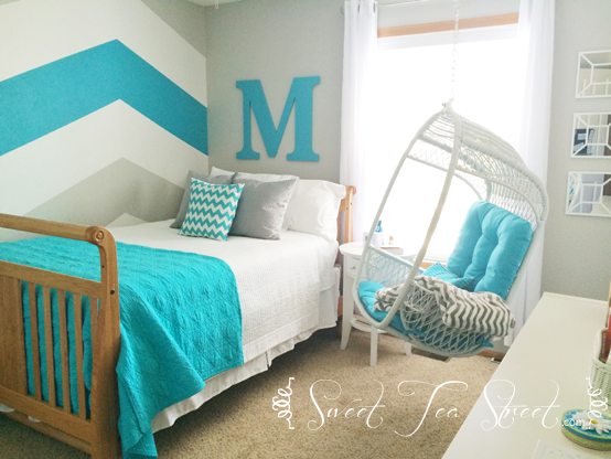 Little Girl to Teen Room Makeover - Sweet Tea Street
