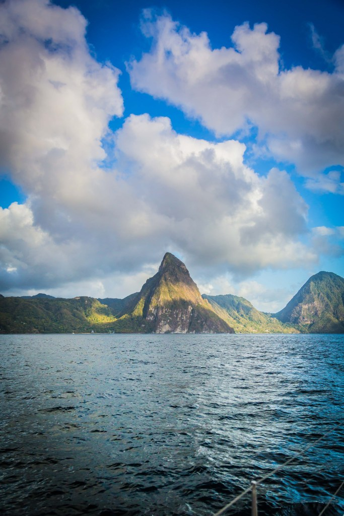 St. Lucia Sunset Boat Tour | www.sweetteasweetie.com