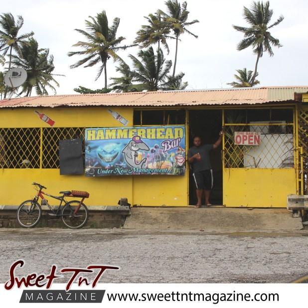 Business at Manzanilla Beach.