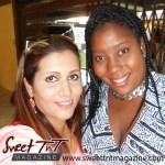 Selfie Nerissa Hosein and Treneiceia Charles, at El dorado Secondary School reunion, Sweet T&T, Sweet TnT, Trinidad and Tobago, Trini, vacation, travel