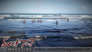 Manzanilla waves in sweet T&T for Sweet TnT Magazine, Culturama Publishing Company, for news in Trinidad, in Port of Spain, Trinidad and Tobago, with positive how to photography.