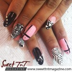 Sommer design, nails, in sweet T&T for Sweet TnT Magazine, Culturama Publishing Company, for news in Trinidad, in Port of Spain, Trinidad and Tobago, with positive how to photography.