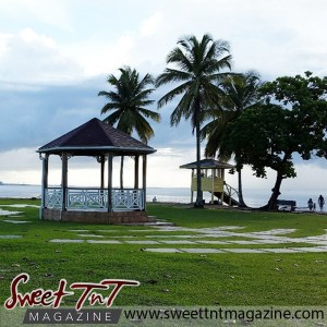 Place - Gazeebo at Vessigny Beach in sweet T&T for Sweet TnT Magazine, Culturama Publishing Company, for news in Trinidad, in Port of Spain, Trinidad and Tobago, with positive how to photography.