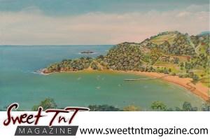 Artist Cliff A Birjou, Parlatuvier Bay, Sweet T&T, Sweet TnT, Trinidad and Tobago, Trini, vacation, travel