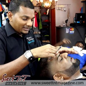 Barber Faisal Mohammed, Master of Fades marks in salon, Sweet T&T, Sweet TnT, Trinidad and Tobago, Trini, vacation, travel