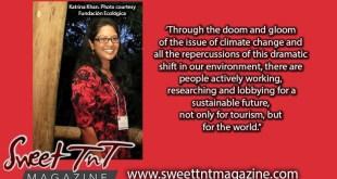 Katrina Khan in Punta Cana for Environmental symposium, photo Fundacion Ecologica, climate, tourism Sweet T&T, Sweet TnT, Trinidad and Tobago, Trini, vacation, travel,