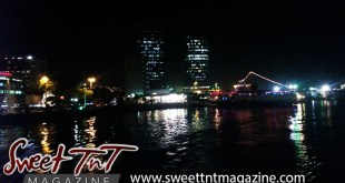 Twin Towers at night, Waterfront from sea, Port of Spain, It's a boat cruise kind of life, Sweet T&T, Sweet TnT, Trinidad and Tobago, Trini, vacation, travel