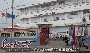 Nelson Street Boys' RC School, Port of Spain. Tribute to teachers.