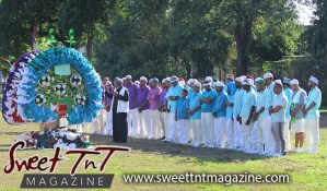 Hosay muslim men, muslim prayer, hands joined in Sweet T&T, Sweet TnT, Trinidad and Tobago, Trini, Travel, Vacation, Tourist, Hosay, Muslim, Parade, Tomb, Drummers, Funeral Procession, Woodbrook, St James, St Clair, Palm, Dancing the moon, Tadjahs, Moons, Tadjahs, mosques, Hussein, Hassan, tombs, tassa side, two moons, Husayn, Hassan,