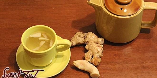 Ginger, tea, ginger tea, bush tea, flu, cough, tea party, medicine,sinus, Sweet T&T, Sweet TnT, Trinidad and Tobago, Trini, Travel, Vacation, Tourist,