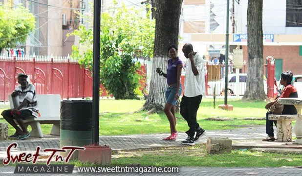 people-chilling-woodford-square-100-years-in-2017