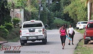 Community Comfort Patrol people exercising on Lady Chancellor Hill Port of Spain for story original outdoor gym in Sweet T&T, Sweet TnT, Trinidad and Tobago, Trini, vacation, travel