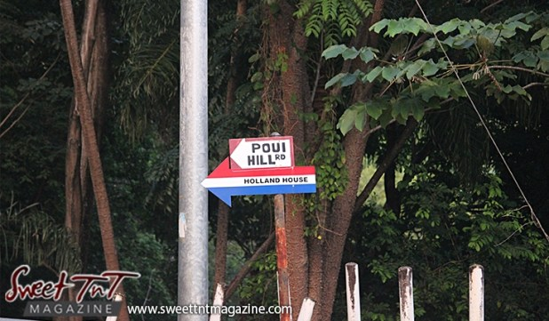 Poui Hill Road Holland House on Lady Chancellor Hill Port of Spain for story original outdoor gym in Sweet T&T, Sweet TnT, Trinidad and Tobago, Trini, vacation, travel