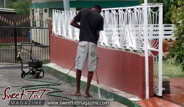 power wash, drain, for Christmas, To do list, Christmas, Sweet T&T, Sweet TnT, Trinidad and Tobago, Trini,