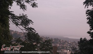Belmont in city of Port of Spain from Lady Chancellor Hill in sweet t&t for Sweet TnT Magazine in Trinidad and Tobago for tourists, photography, scenic views, vacation, travel