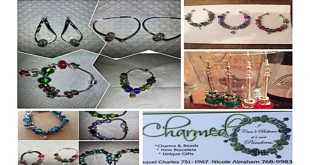 "Build Charmed (I can't believe it's not Pandora) Jewelry by Racquel Charles and Nicole Abraham A ""build your own design"" costume jewelry in sweet T&T for Sweet TnT Magazine, Culturama Publishing Company, for news in Trinidad, in Port of Spain, Trinidad and Tobago, with positive how to photography."