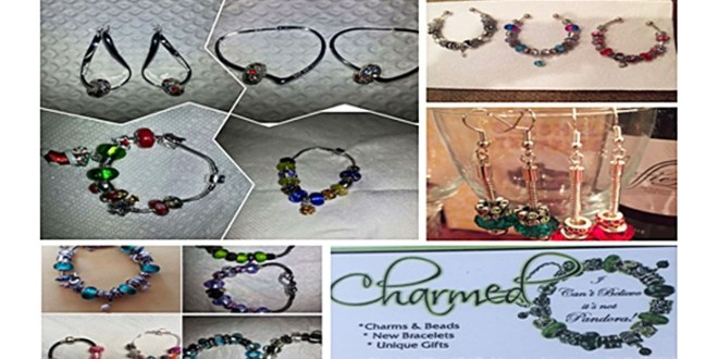 """Build Charmed (I can't believe it's not Pandora) Jewelry by Racquel Charles and Nicole Abraham A """"build your own design"""" costume jewelry in sweet T&T for Sweet TnT Magazine, Culturama Publishing Company, for news in Trinidad, in Port of Spain, Trinidad and Tobago, with positive how to photography."""