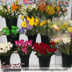 Flowers for Valentine's day in sweet T&T for Sweet TnT Magazine, Culturama Publishing Company, for news in Trinidad, in Port of Spain, Trinidad and Tobago, with positive how to photography.