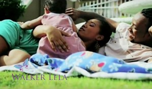 Family on lawn for positive and pregnant film in sweet T&T for Sweet TnT Magazine, Culturama Publishing Company, for news in Trinidad, in Port of Spain, Trinidad and Tobago, with positive how to photography.