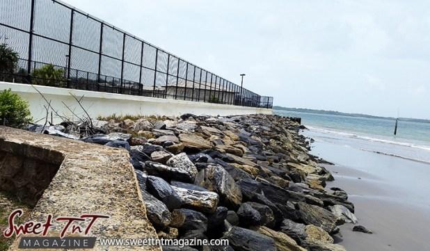 Fence in Guaya. Photo Marika Mohammed.