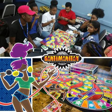 Le Platte Studios launches Carnival board game. Santimanitay board game.