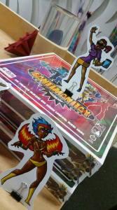 Le Platte Studios launches Carnival board game. Santimanitay board game characters.