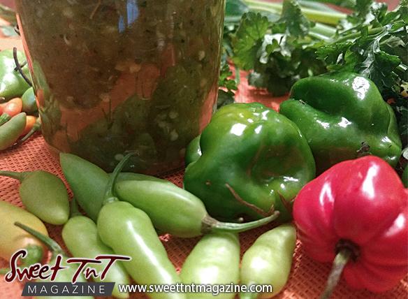 Homemade pepper sauce in Sweet TnT Magazine
