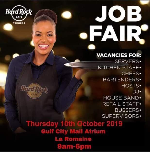 Hard Rock Cafe Job Fair