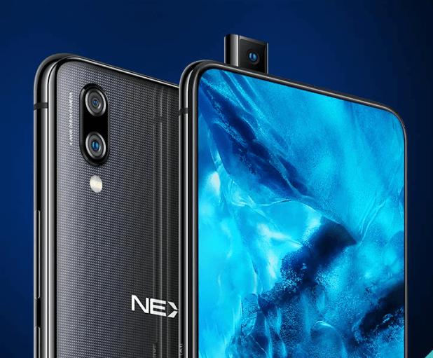 Vivo NEX Best Phones with Pop-up Cameras and Sliders in 2018