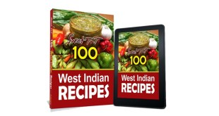Sweet TnT 100 West Indian Recipes covers paperback and e-book