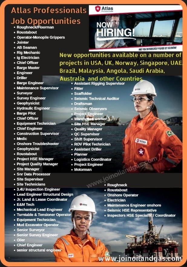 Oil & Gas Career Oppotunities