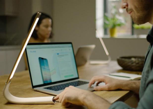 Blue light glasses, Blue light blocking Lamp - Oculamp