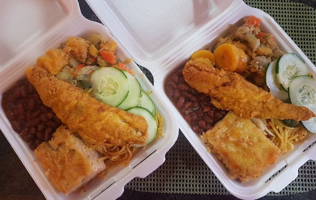 Creole food at Ray's Place.