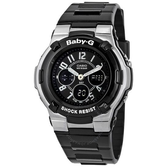 CASIO Baby G Shock Resistant Black Multi-Function Sport Ladies Watch BGA110-1B2