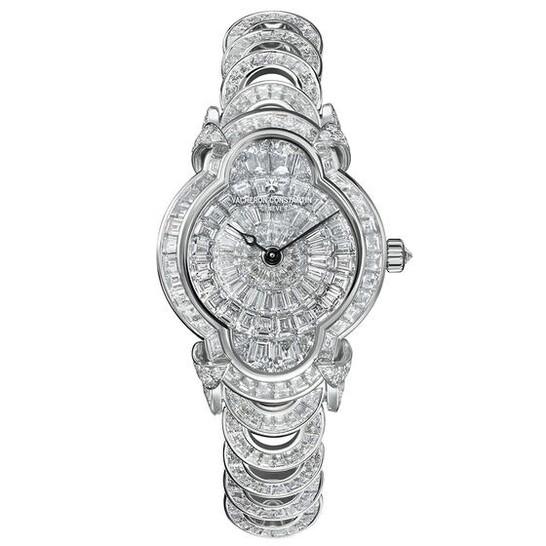 VACHERON CONSTANTIN Heures Creatives Heure Romantique Diamond Silver Dial Ladies Watch