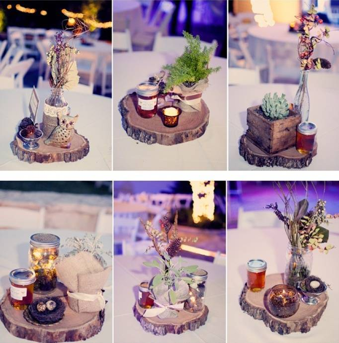 woodland centerpieces