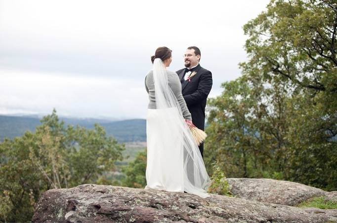 mountain wedding