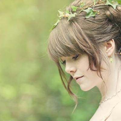 Cottingley Fairy Inspired Woodland Wedding Styled Shoot