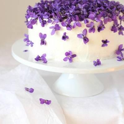 DIY: Violet Torte