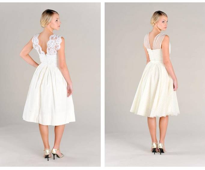 Pure Magnolia Tea Length Dress