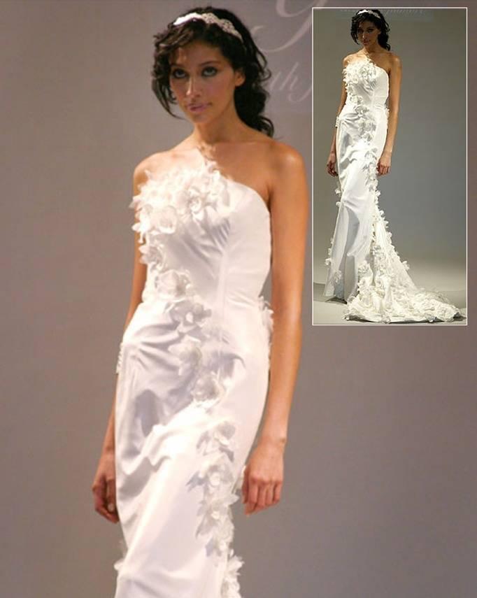 Elizabeth Fillmore Gardenia Gown
