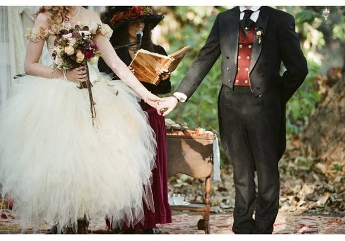 Steampunk Faerie Wedding