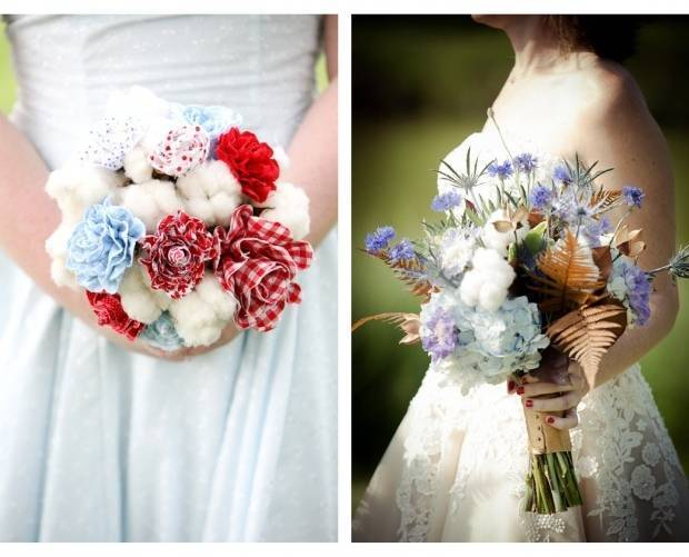 Fall Inspired Wedding Bouquets