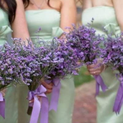 Arkansas DIY Lavender + Sage Wedding {from Photo Love}