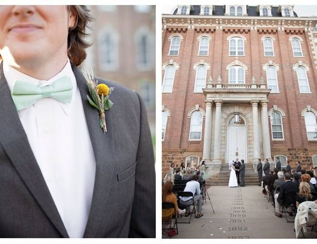 university of arkansas wedding