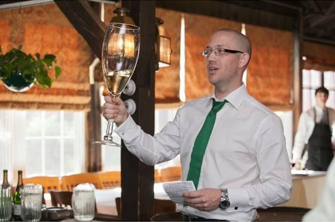 giant toasting glass