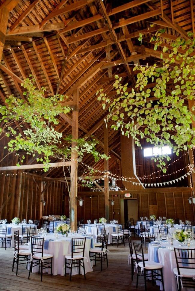 nature inspired rustic barn wedding