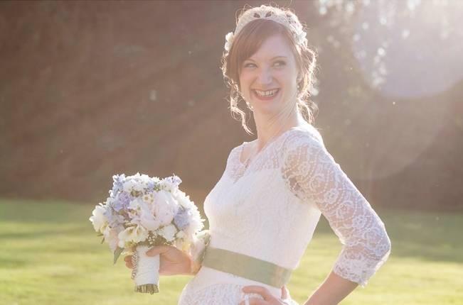 vintage british bride